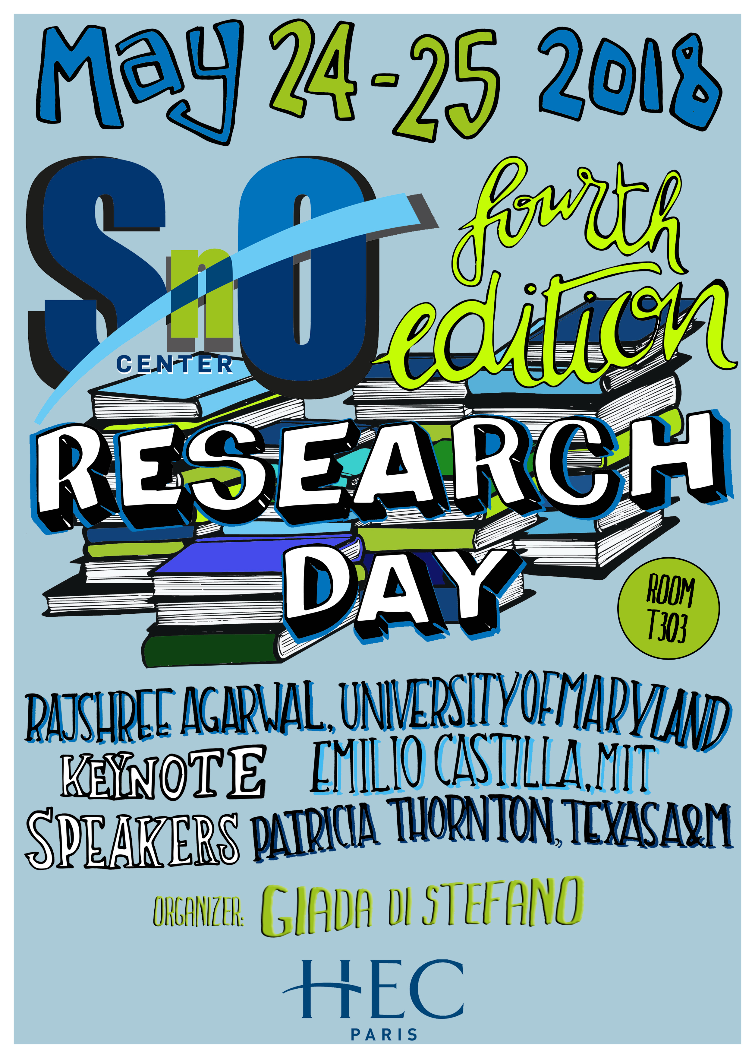 Join us for the SnO Research Day!